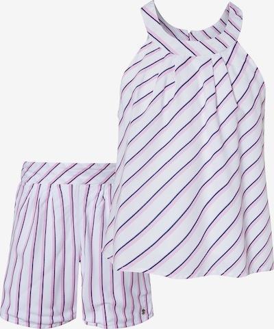 ESPRIT Top + Shorts in blau / rosa / weiß, Produktansicht