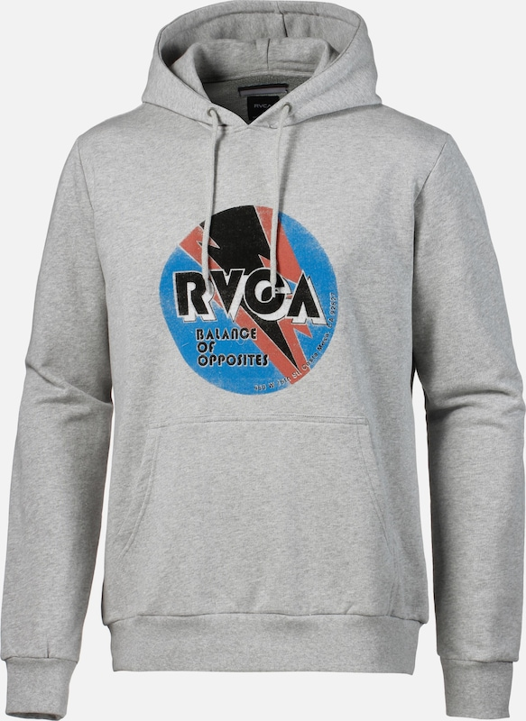 'volt' 'volt' In Sweatshirt Sweatshirt Grijs Rvca Rvca Oym0wNv8n