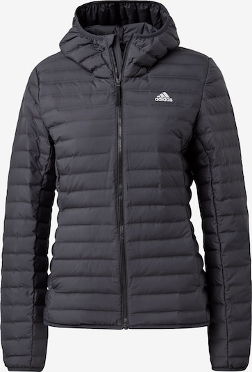 ADIDAS PERFORMANCE Outdoor jacket 'Varilite' in dark grey / white, Item view