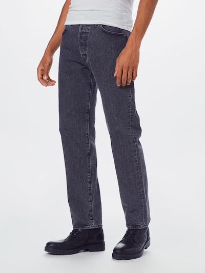 LEVI'S Jeans '501® '93 STRAIGHT' in de kleur Grey denim, Modelweergave