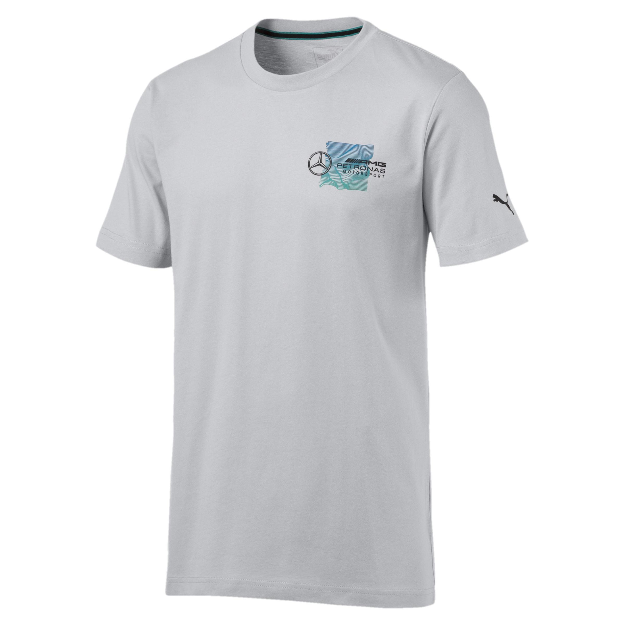 Puma Amg In T shirt Petrol Motorsport' 'mercedes Petronas BlauGrau kOPXNn80w