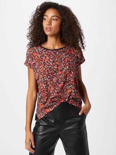 InWear Tričko 'Sicily' - oranžová / pink / černá / bílá: Pohled zepředu