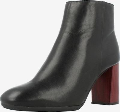 Alpe Stiefel in rot / schwarz, Produktansicht