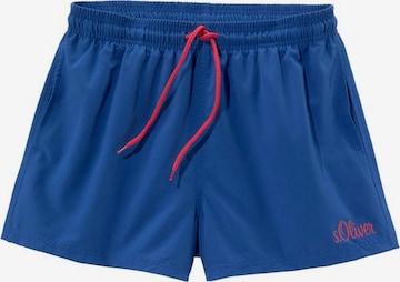 Pantaloncini da bagno di s.Oliver in blu