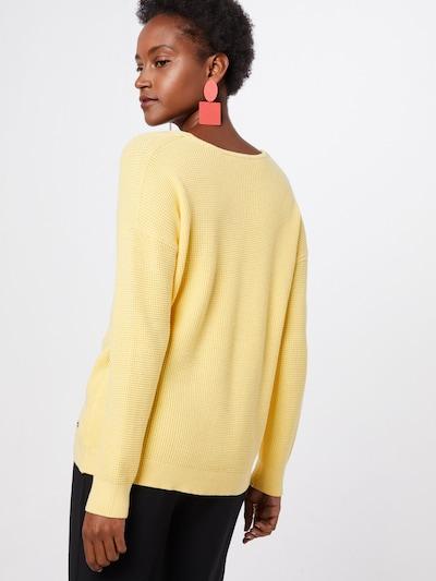 EDC BY ESPRIT Pullover 'OSN' in gelb: Rückansicht