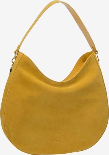 Coccinelle Handtasche 'Alpha Suede 1301' in gelb, Produktansicht