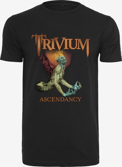 Mister Tee T-Shirt 'Trivium Ascendancy' in mischfarben / schwarz: Frontalansicht