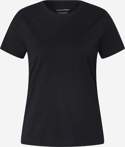 Banana Republic Shirt 'SP20 SS NEW SUPIMA CREW' in schwarz, Produktansicht