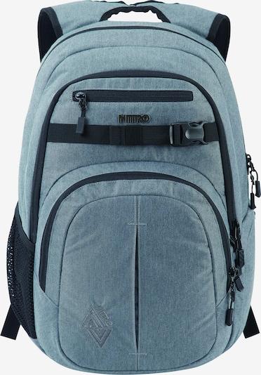 NitroBags Rucksack 'Chase' in taubenblau / schwarz, Produktansicht