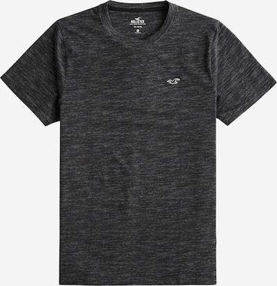 HOLLISTER Shirt 'Hatchy Waffle' in de kleur Zwart, Productweergave