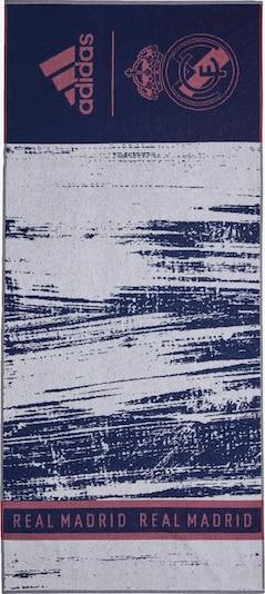 ADIDAS PERFORMANCE Handdoek 'Real Madrid' in de kleur Donkerblauw / Lichtgrijs / Pastelrood, Productweergave