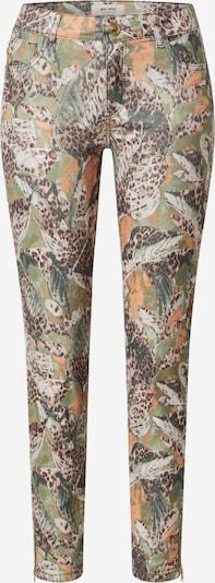 MOS MOSH Broek 'Victoria Maya' in de kleur Donkergroen / Gemengde kleuren, Productweergave