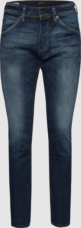 JACK & JONES Slim Fit Jeans 'Glenn' in blau  Mode neue Kleidung