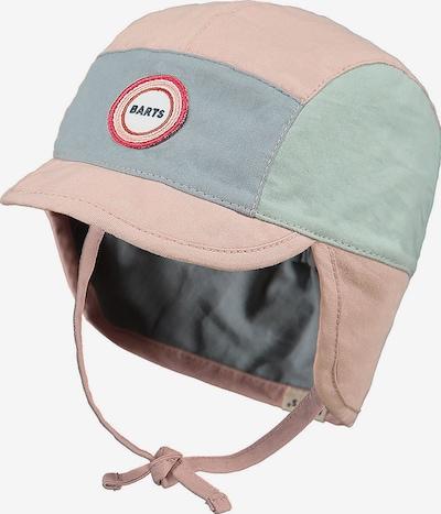 Barts Schirmmütze 'Beaver' in blau / grün / hellpink, Produktansicht