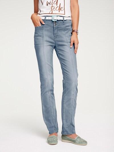 Džinsai 'Belena' iš heine , spalva - pilko džinso, Modelio vaizdas