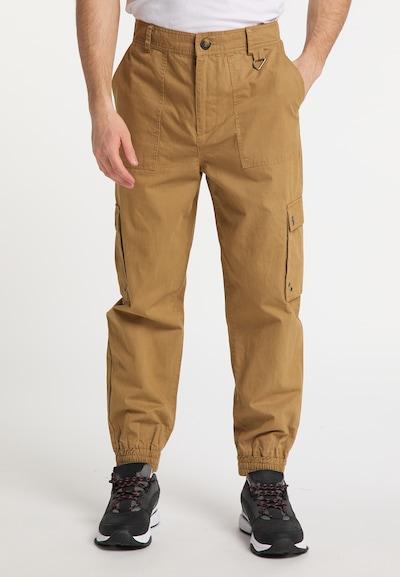 MO Pantalon cargo en sable, Vue avec modèle