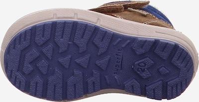 SUPERFIT Stiefel in blau / braun: Ansicht von unten