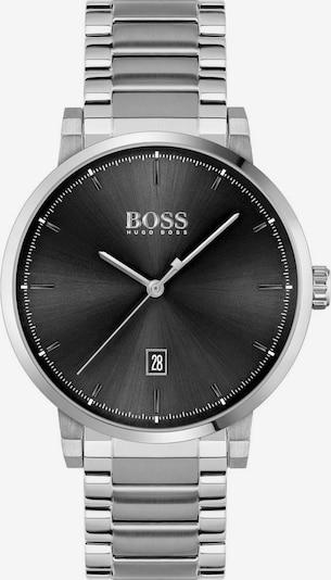 BOSS Uhr 'Confidence' in schwarz / silber, Produktansicht