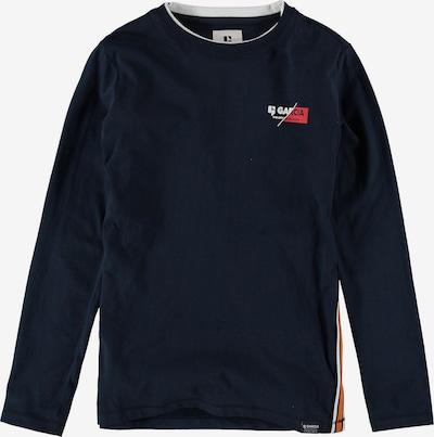 GARCIA Shirt in dunkelblau / orange / weiß, Produktansicht