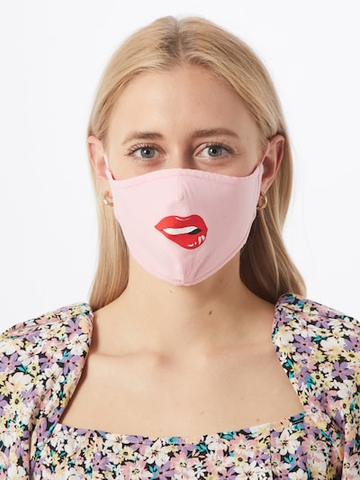 ABOUT YOU Stoffmasken '3er Pack Charlie' in pink: Frontalansicht