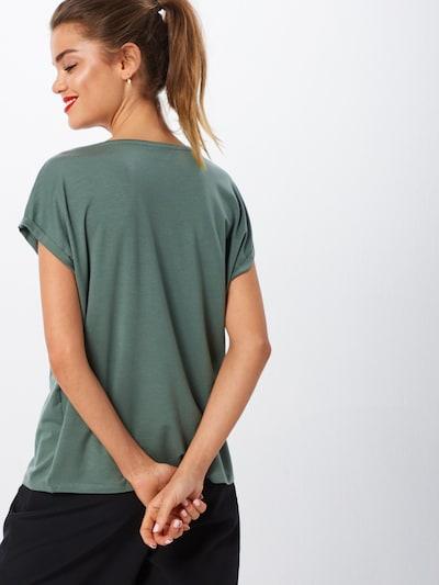 VERO MODA T-Shirt 'AVA PLAIN' in grün: Rückansicht