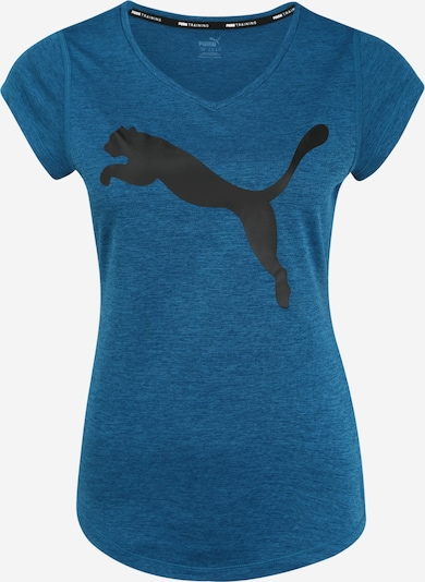 PUMA Koszulka funkcyjna 'Heather Cat' w kolorze ciemny niebieski / czarnym, Podgląd produktu
