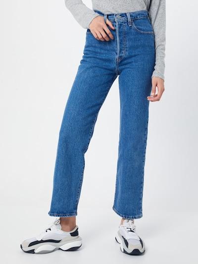 LEVI'S Jeans 'RIBCAGE' in blue denim, Modelansicht
