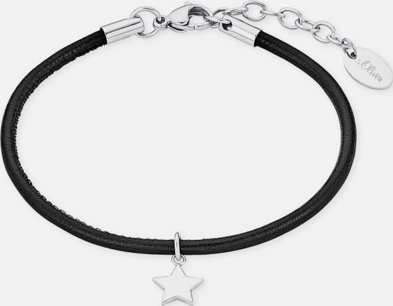 s.Oliver RED LABEL Armband 'Stern, 2018564'