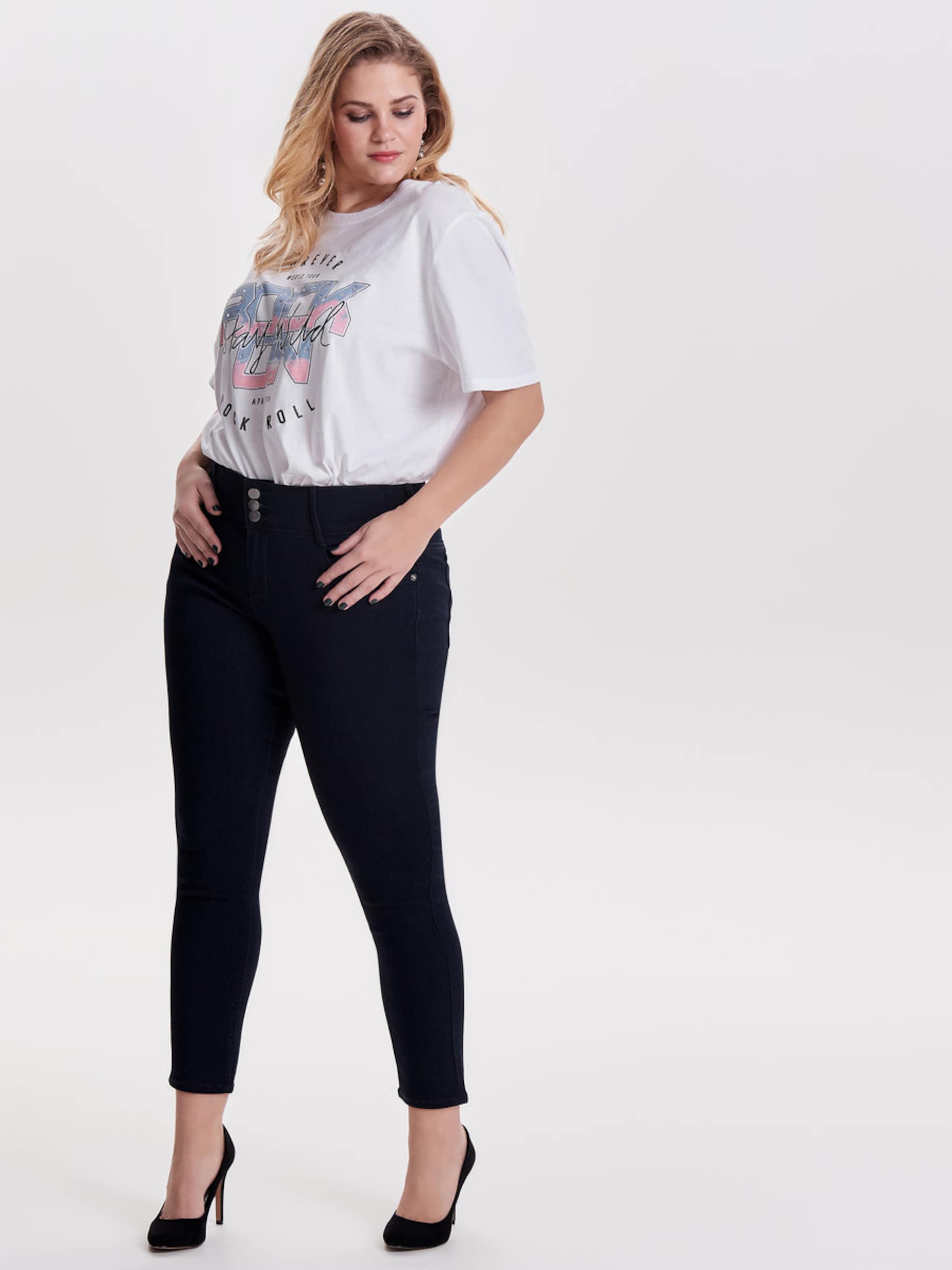 ONLY Carmakoma Curvy high waist Skinny Fit Jeans Heißen Verkauf Online-Verkauf Klassisch Billig Verkauf Genießen 2018 Neue Online PgLWniQ