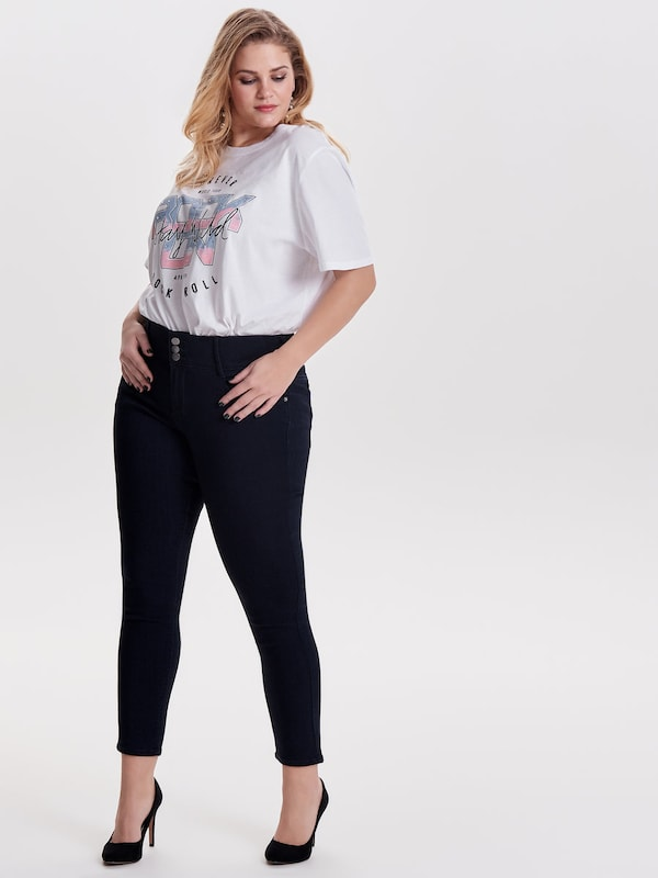 ONLY Carmakoma Curvy high waist Skinny Fit Jeans