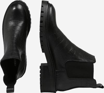 ABOUT YOU Chelsea Boots 'Romina' en noir: Vue de profil