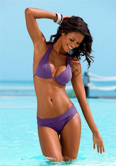 LASCANA Triangel-Bikini in helllila, Modelansicht