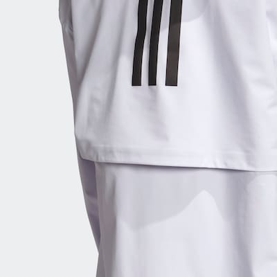 ADIDAS PERFORMANCE Outdoormantel in offwhite: Frontalansicht