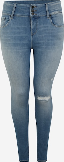 ONLY Carmakoma Jeans 'CARANNABEL' in blue denim: Frontalansicht