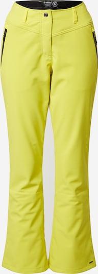 KILLTEC Outdoor hlače 'Jilia' | rumena barva, Prikaz izdelka