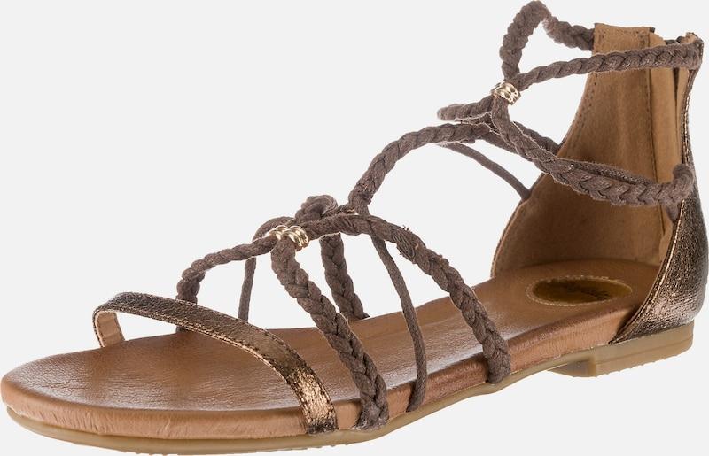 BUFFALO T-Steg-Sandalen Textil, Synthetik Billige Herren- und Damenschuhe