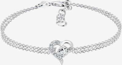 ELLI Armband 'Herz' in silber, Produktansicht