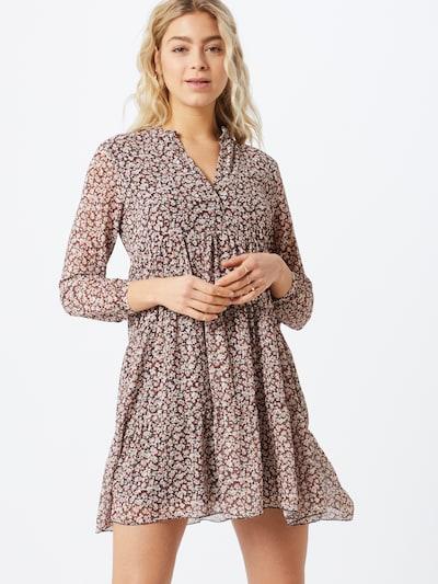 ZABAIONE Kleid 'Ria' in beige / rosé / schwarz, Modelansicht
