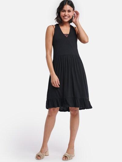 Shiwi Kleid 'baila' in schwarz, Modelansicht