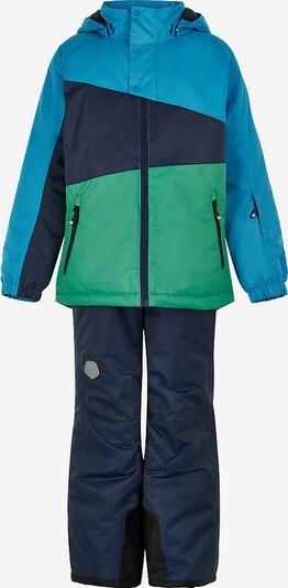 COLOR KIDS Schneeanzug in blau / grün, Produktansicht