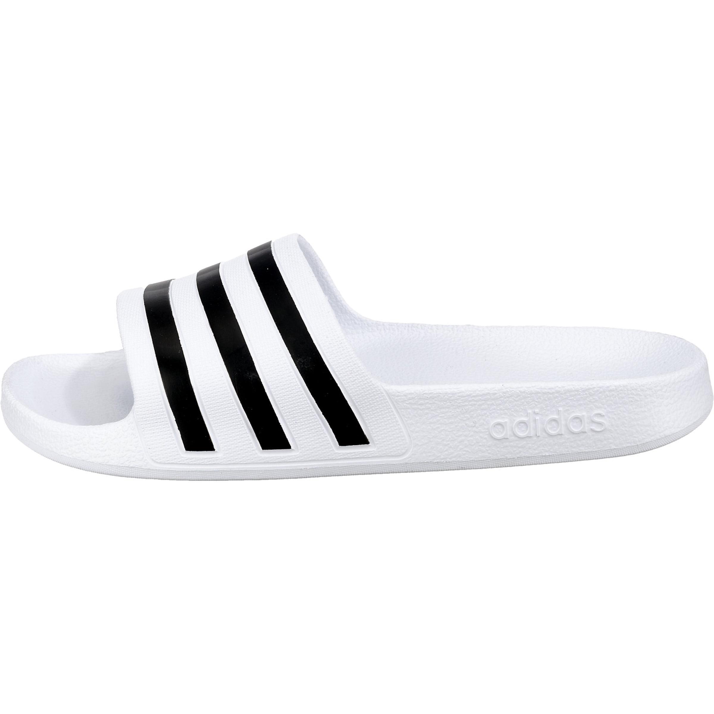 ClaquettesTongs Noir Blanc Adidas Performance En 'adilette Aqua' wOkXTPZiu