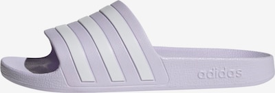 ADIDAS PERFORMANCE Sports shoe 'ADILETTE AQUA' in light purple / white, Item view