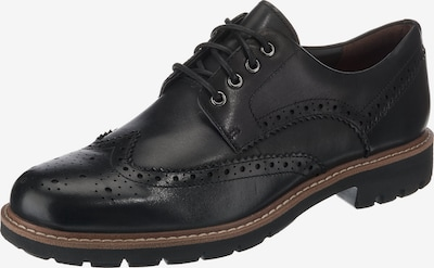 CLARKS Schnürschuhe 'Batcombe Wing' in schwarz, Produktansicht
