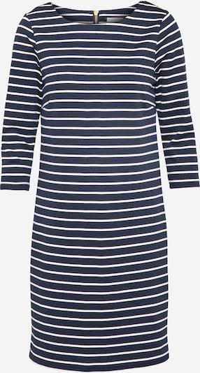 VILA Jerseykleid 'Vitinny' in blau / weiß: Frontalansicht