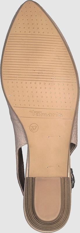 TAMARIS | | | Pump 'Sling Pump low' Schuhe Gut getragene Schuhe 08381d