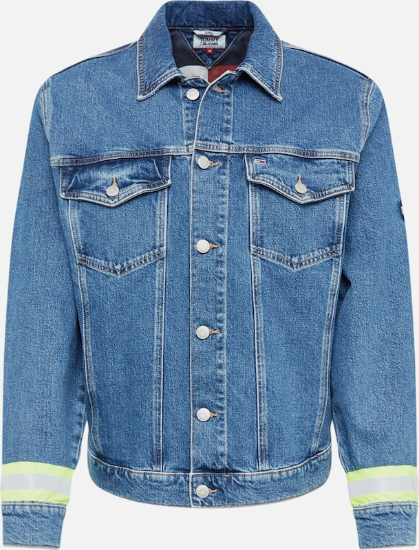 Tommy Jeans Jeansjacke in blue denim, Produktansicht