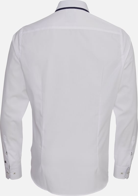 PURE Langarm-Hemd City Black Fashion Fit