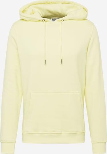 Urban Classics Sweatshirt in hellgelb, Produktansicht