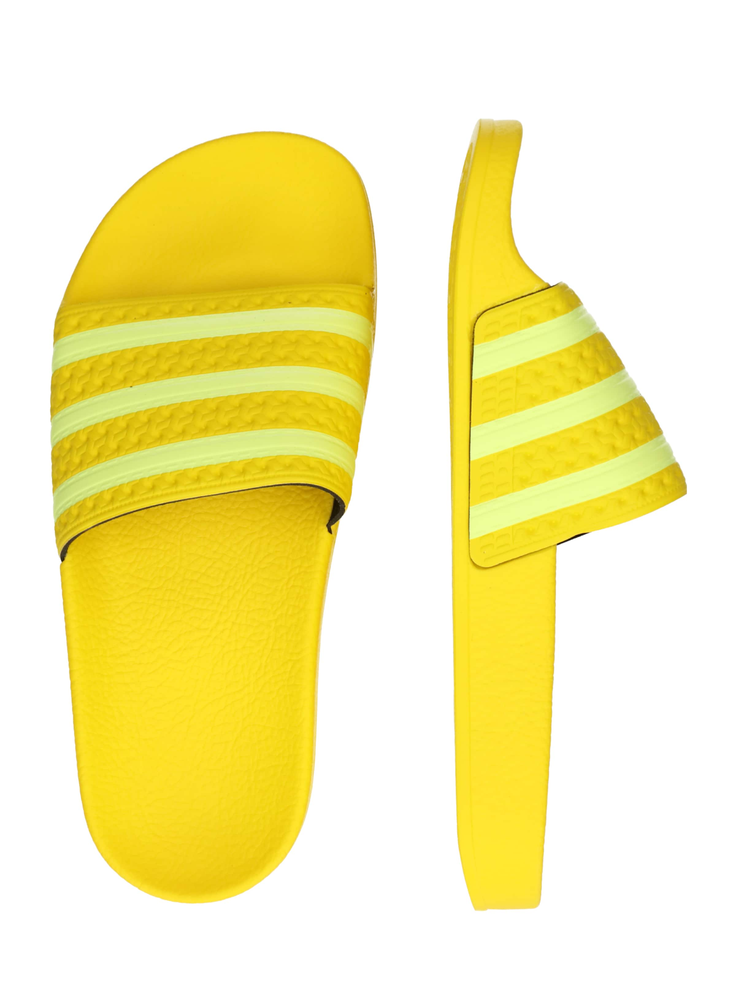 Adidas Originals Mule 'adilette En JauneBlanc W' eBxodC