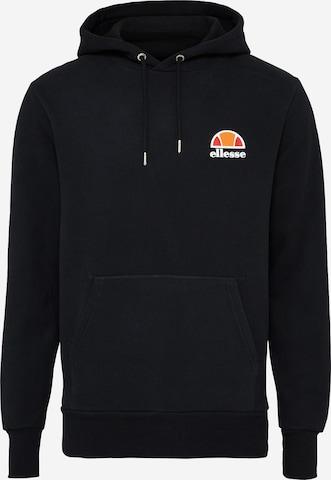 ELLESSE Sweatshirt 'Toce' in Black